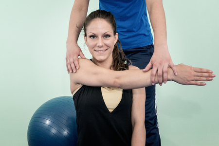 flexion: Physical therapy: improving shoulder flexion