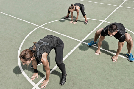 Spider walk exercise, part of insanity workout program