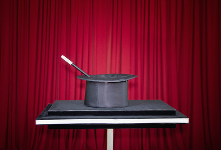 stage props: Stage with magic props
