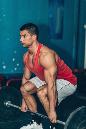 Weightlifting training