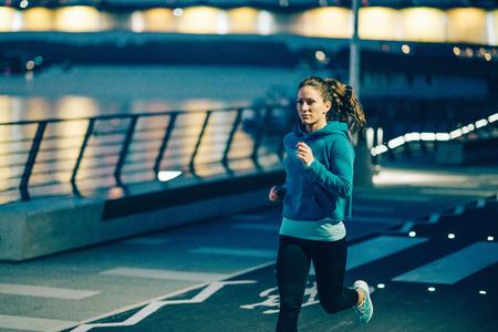 リバーサイド ジョギング