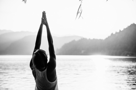 buena postura: Saludo al Sol Pose
