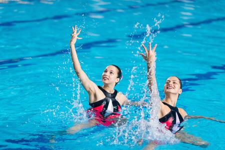 natación sincronizada: La competencia en Natación sincronizada