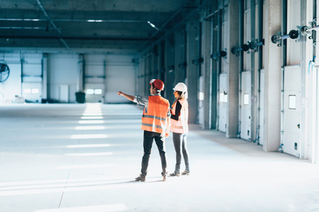 Maintenance Engineering on construction site