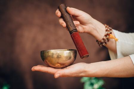 Ciotola di canto tibetano