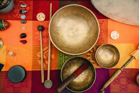 티베트어 노래 그릇
