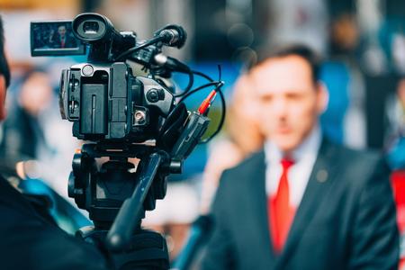 Intervista media su fiera