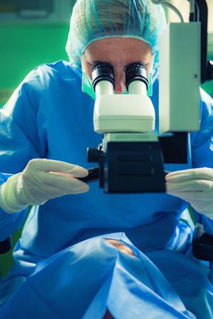 Sala de operaciones. Pequeña intervención quirúrgica