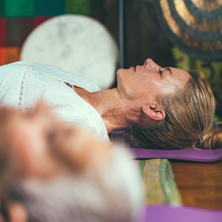 Mindfulness exercise, guided meditation therapy