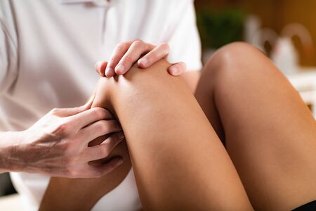Leg Osteopathy treatment