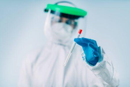 Corona virus test kit - Swab sample for PCR DNA testing