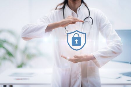 Medical Data Privacy Concept