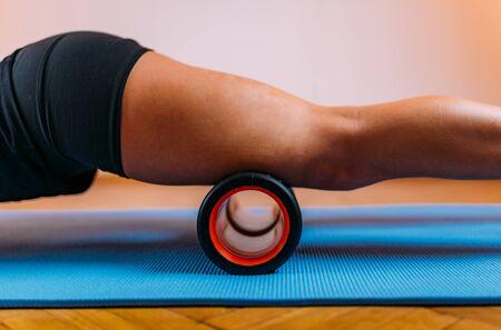 Foam Roller Quadriceps Self Massage at Home