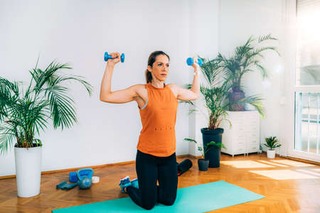 Exercising with Kettlebell at Home