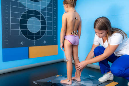 Baropodometry, 4D child posture analysis, recording biomechanical behaviour