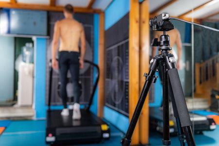 3D Gait or Walking Biometric Test