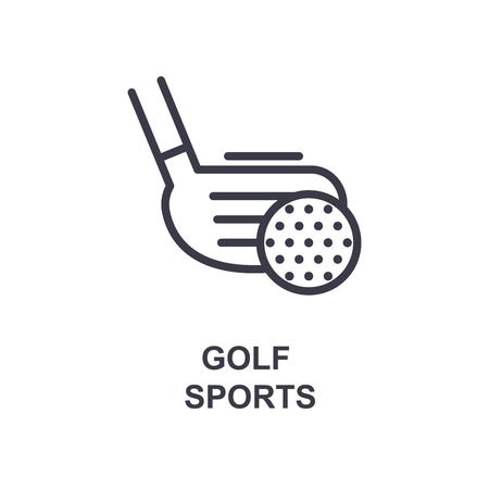 golf sports icon