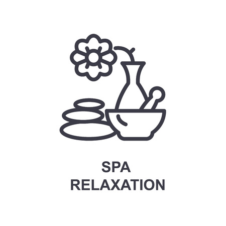 Spa relaxation icon