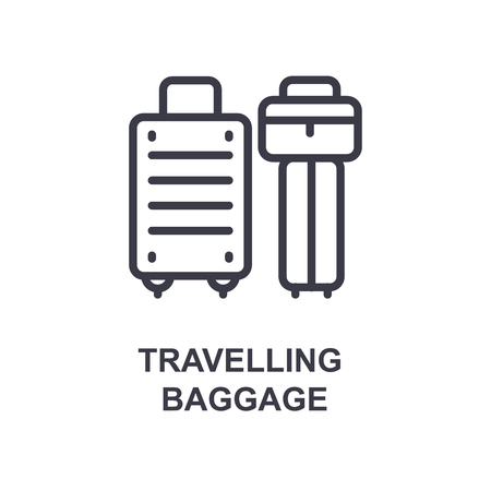travellig baggage icon