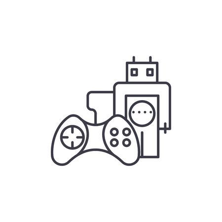 Control tools linear icon concept. Control tools line vector sign, symbol, illustration.