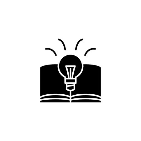 Business plan black icon concept. Business plan flat  vector symbol, sign, illustration.