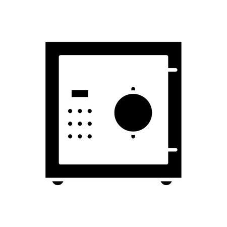 Savings in cash black icon concept. Savings in cash flat  vector symbol, sign, illustration.
