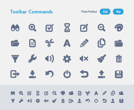 Toolbar Commands - Ants Icons