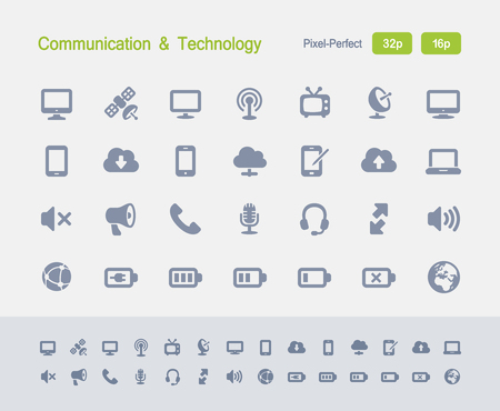 Communication & Technology - Granite Icons