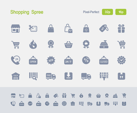 Shopping Spree - Granite Icons