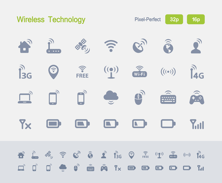 Wireless Technology - Granite Icons