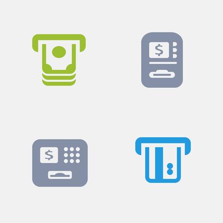 ATM granite icons.