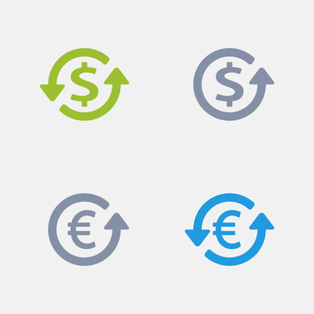 Dollar & Euro - Granite Icons