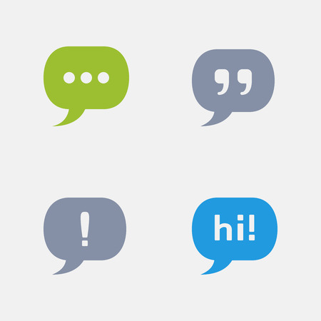 Chat Bubbles, part of Granite Icons