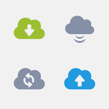 Cloud Computing, part of Granite Icons