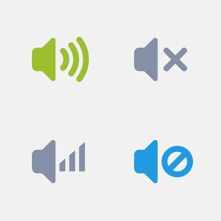 Speakers, part of Granite Icons 向量圖像
