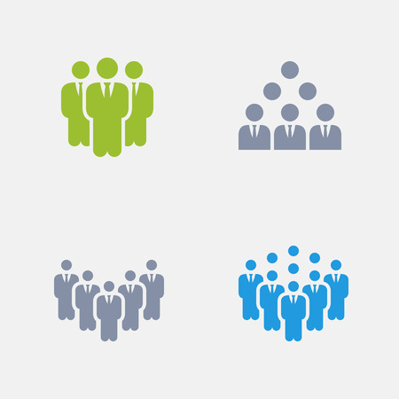 Business Teams, part of Granite Icons Illustration