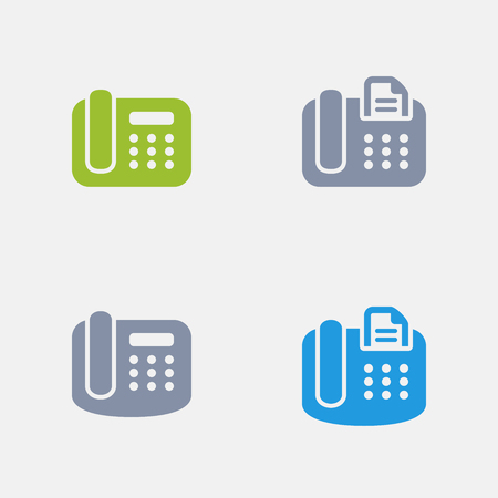 Office Phone, part of Granite Icons 向量圖像