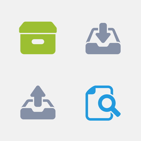 Paperwork, part of Granite Icons Иллюстрация