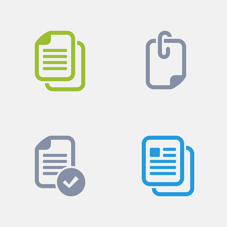 Document Types, part of Granite Icons