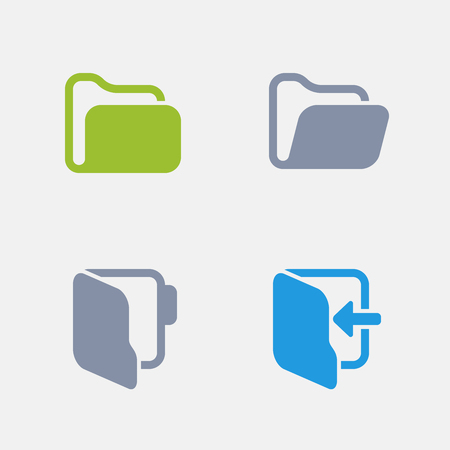 Folders, part of Granite Icons 向量圖像