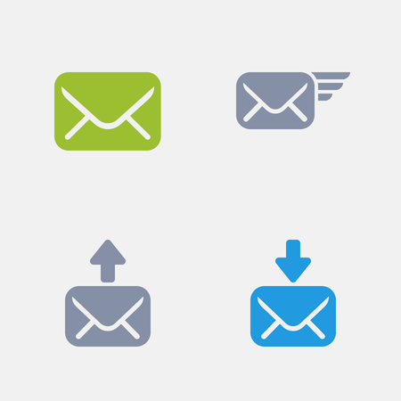 Mail, part of Granite Icons 向量圖像