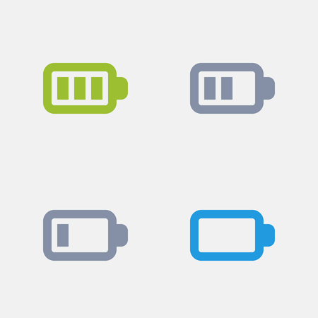 Battery Levels, part of Granite Icons