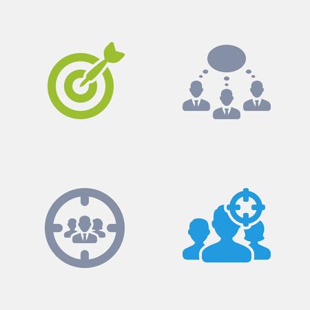Marketing Techniques, part of Granite Icons Illustration