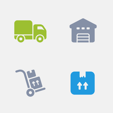 Order Delivery, part of Granite Icons 向量圖像