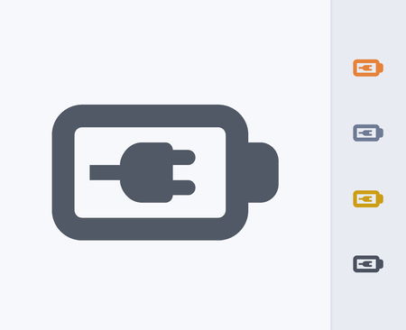 Een professioneel pixel-aligned icoon Stock Illustratie