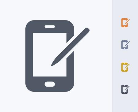 A professional, pixel-aligned icon designed on a 32x32 pixel grid and redesigned on a 16x16 pixel grid for very small sizes. Ilustração