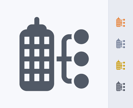 A professional, pixel-aligned icon designed on a 32x32 pixel grid and redesigned on a 16x16 pixel grid for very small sizes. 版權商用圖片 - 86379880