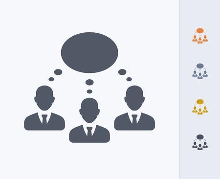 Businessmen thinking concept