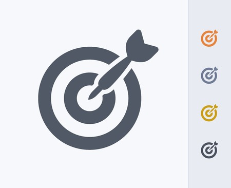 Target concept icon 版權商用圖片 - 86474908