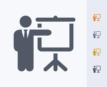 Lecture concept icon